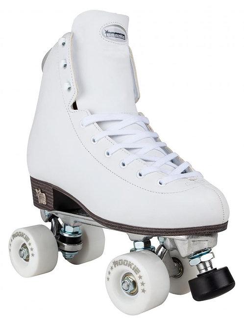 Rookie Artistic Roller Skates - White