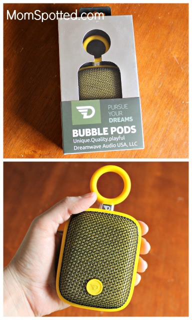 REVIEW: The DreamWave Bubble Pod Speaker Is Perfect For All Your Outdoor Adventures | MOM SPOTTED
