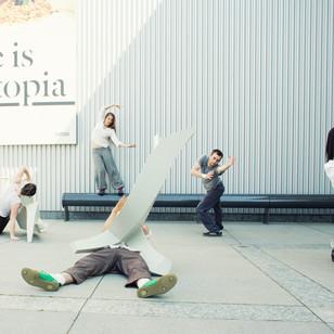 Sculptures in action