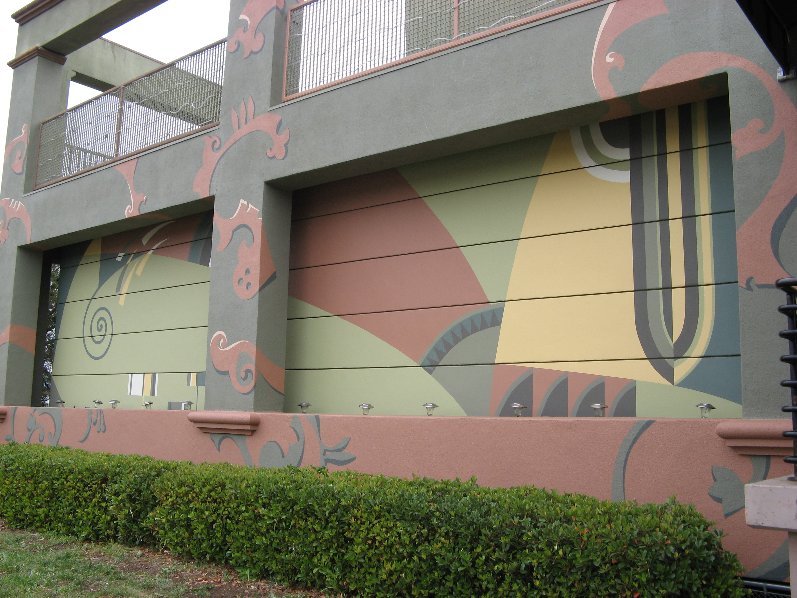 Mural exterier