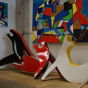 'Dancers,' an instalation