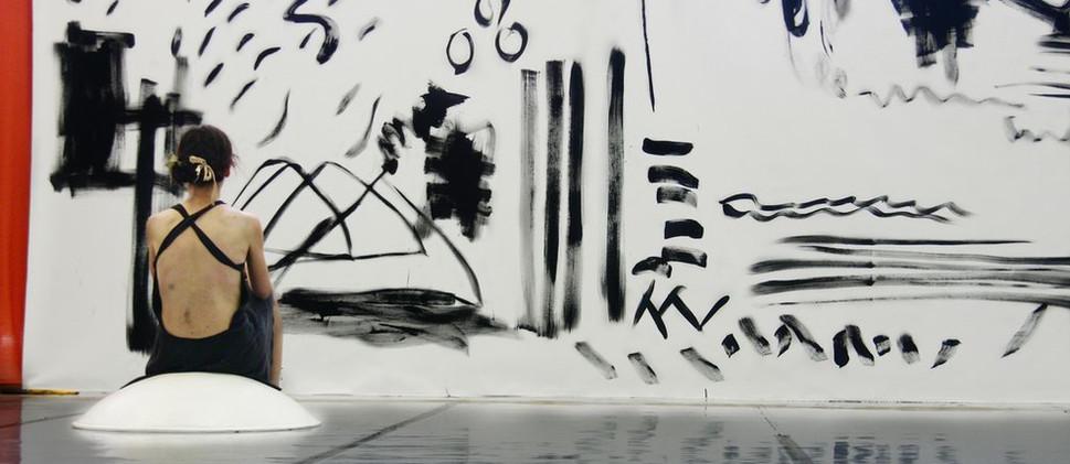 Erika Tsimbrovsky & Live Painting by Puyandaev