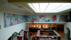 Mural at Shalom Plaza Hotel 1996