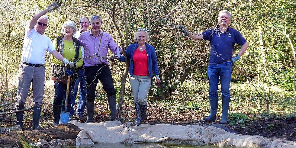 Harris Woodbridge Nature Reserve - dig for Cookham!