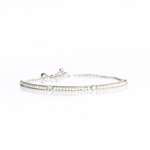 Signature Keshi Pearls chain bracelet