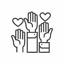 volunteer-hands-linear-icon-sign-260nw-7