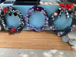 Goth wreaths from ms peg