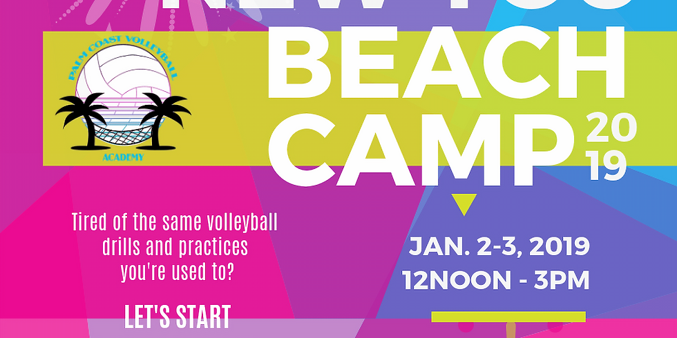 New Year New You Volleyball Camp