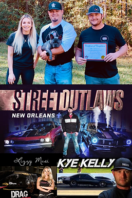 Top Dog Training New Orleans Street Outlaws Kye Kelly Lizzy Musi