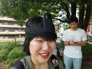 VR動画ダメドラワールド制作中