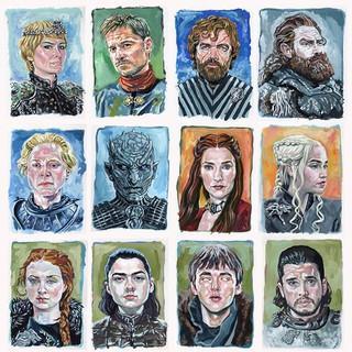 Game of Thrones portrait set._#gameofthr