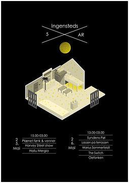 PIngensteds 5år jubileum's poster