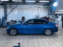 BMW 3ER 320I F30 XDRIVE B48 STAGE 1 от K8-STRASSE — 260 лс / 395 нм