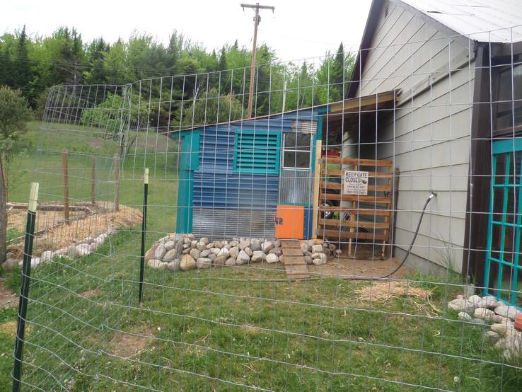 Chicken coop done!