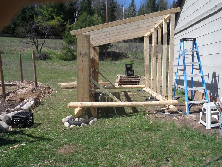 More chicken coop