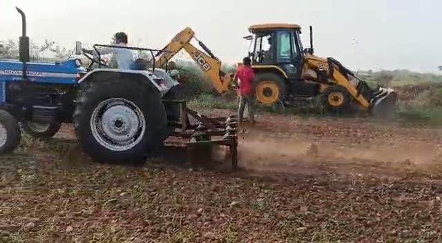 Mogaluru Land Preparation
