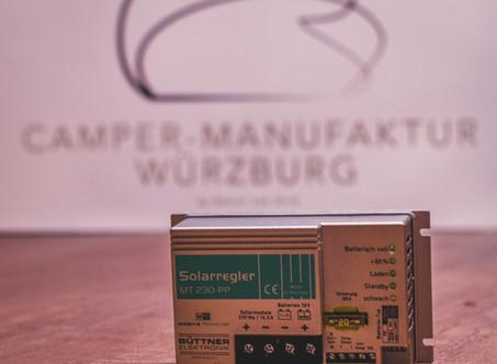Solarenergie & wie sie in die Camper-Batterie gelangt; der Solarladeregler als Verbindungskomponente