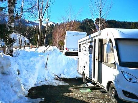 Reisemobil-Urlaub im Winter