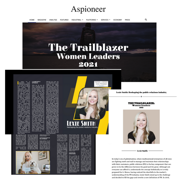 lexie smith the trailblazer women leader