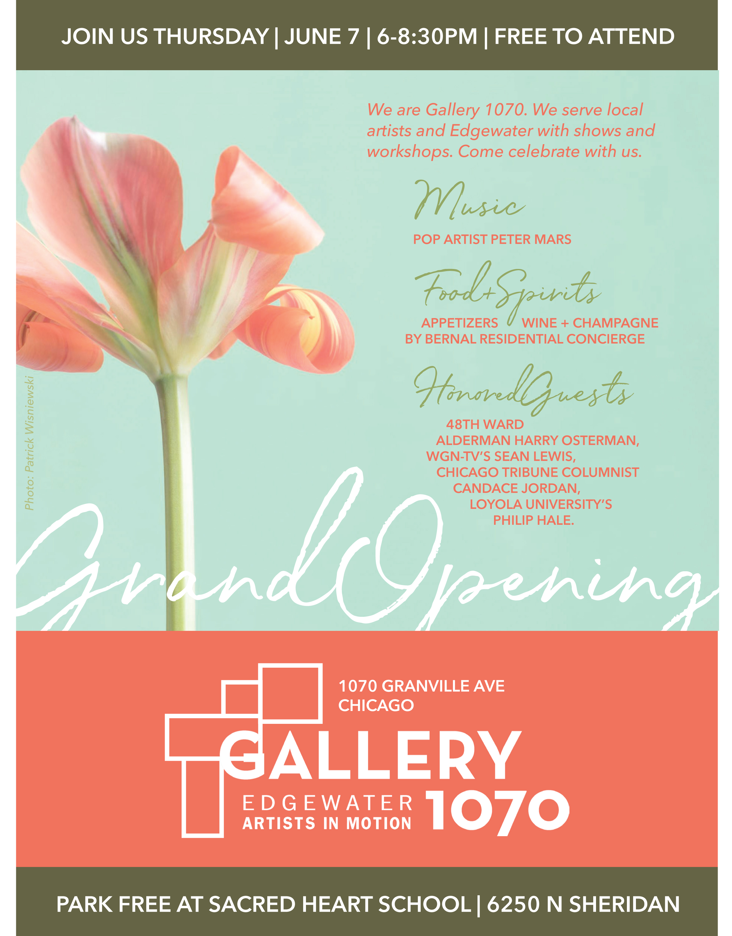 Gallery 1070 Invitation