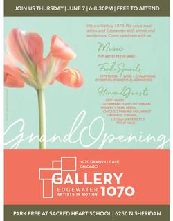 Gallery 1070 Invitation