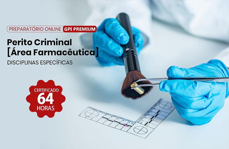 Curso Online - Perito Criminal na Área Farmacêutica - Instituto GPI