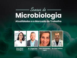 [Replay] Semana da Microbiologia - 100% online e gratuito