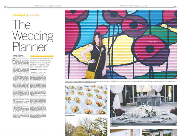 Features design: The Wedding Planner