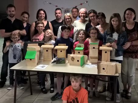 """Atelier Nichoirs au Club CPN """"Les Écureuils"""" de l'école Ste Foy d'Agen"""