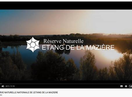 La Réserve Naturelle de l'Étang de la Mazière comme vous ne l'avez jamais vue !