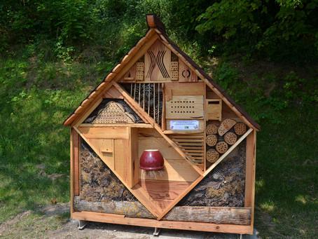 Un bel Hôtel à Insectes pour Monclar !