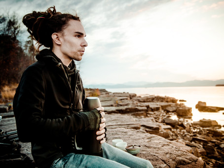 Tea Cups, Subtle Waves & Moonrises
