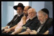 Rabbi Shem Tov Menachen and Rabbi Melchior