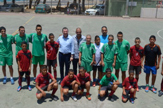 Youth sport activities between jews and arabs in Israel