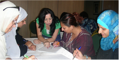 Projects with arab women in Israel