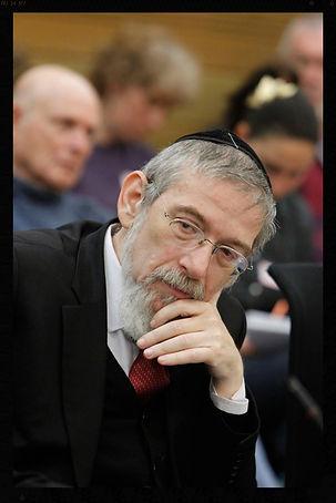 Rabbi Michael Melchior CAF founder