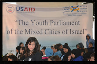 Youth Parliaments of mixed cities in Israel CAF program