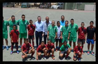 Jews and arabs sport events