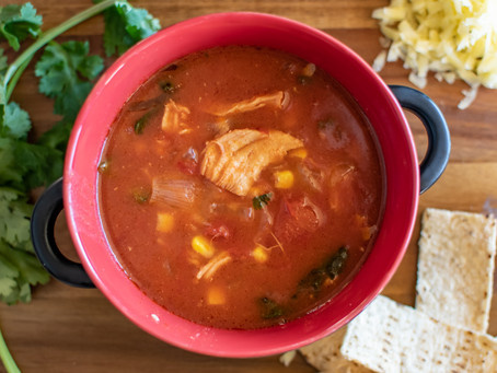 Recipe: Crockpot Chicken Tortilla Soup