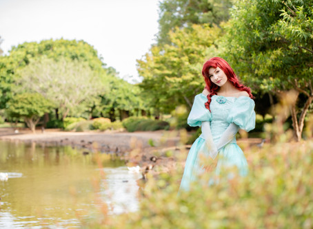 Little Mermaid at the Japanese Gardens