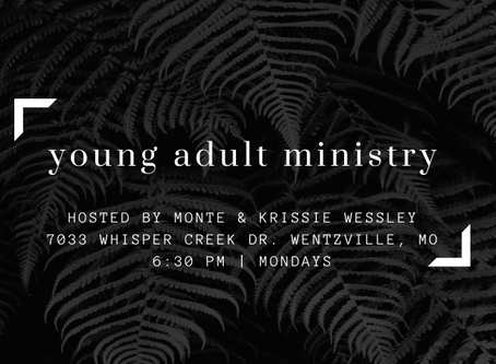 Young Adults (ages 18-29) - Monday Nights