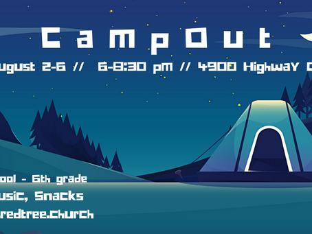 CampOut //  Grades K-5