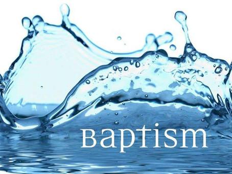 Baptism Sunday //  April 25