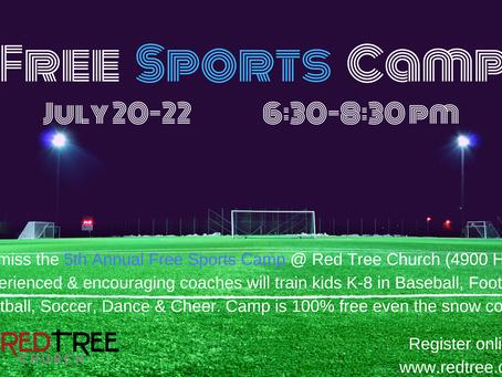 Free Sports Camp // July 20-22