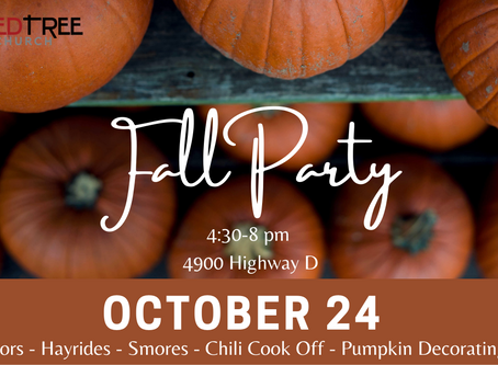 Fall Party //  Saturday October 24