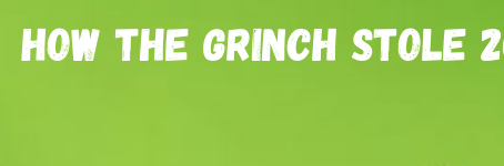 How the Grinch Stole 2020 // Christmas Series