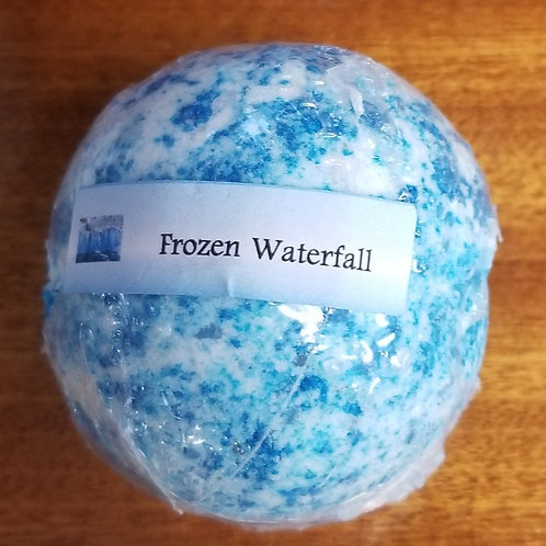 Frozen Waterfall Bath Bomb