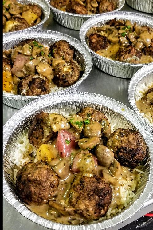 Meatball Dinner (med)