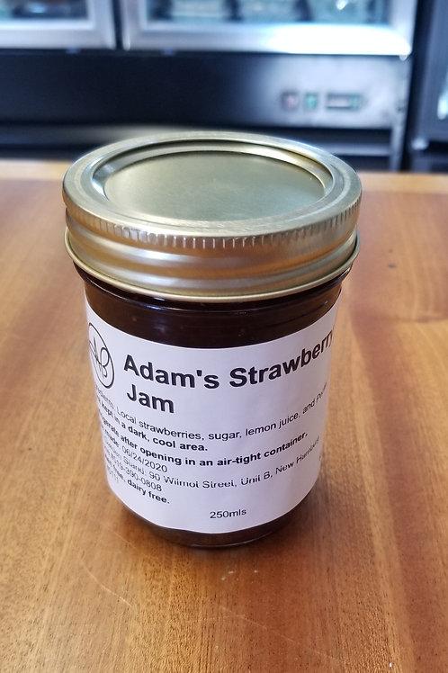 Adam's Strawberry Jam (250mL)