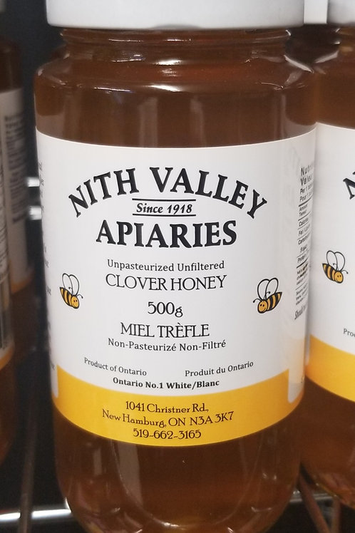 Nith Valley Apiaries Clover Honey, 500g
